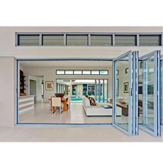 China WDMA aluminium doors Aluminum Folding Doors