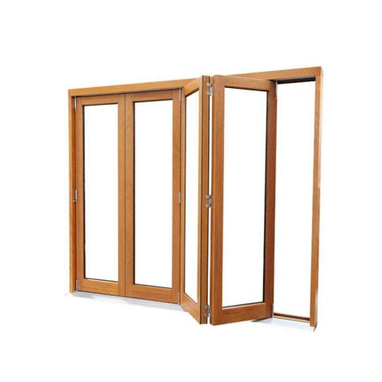 WDMA Latest Design Bifold Doors Wood In Patio For House