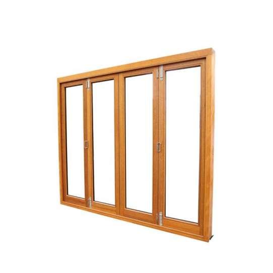 China WDMA bifold door Wooden doors