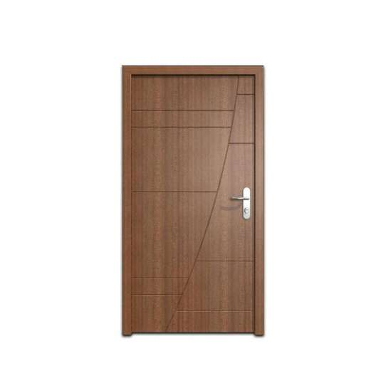 China WDMA Latest Design Hollow Core Hdf Mdf Laminated Plywood Veneer Wooden Single Flush Door Design