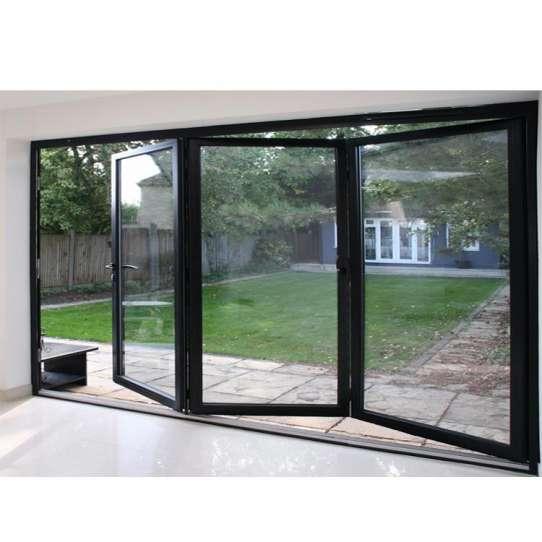 WDMA Latest Home Design As2047 Australian Standard Aluminium Glass Folding Door