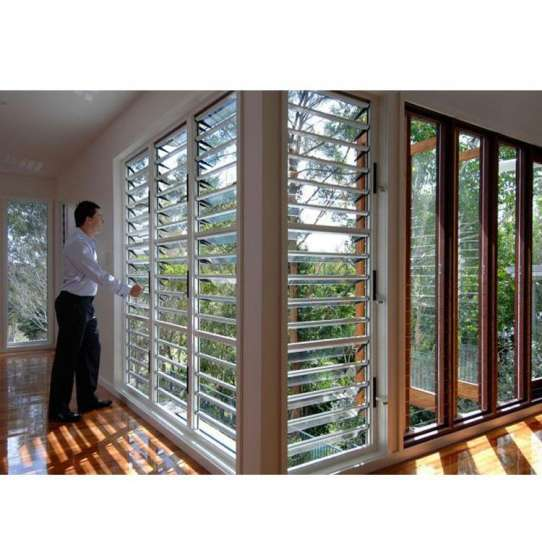 WDMA latest aluminium windows Aluminum louver Window