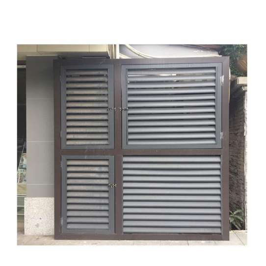 China WDMA latest aluminium windows Aluminum louver Window