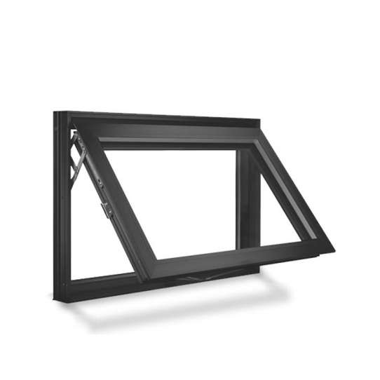 WDMA Latest Triple Glazed Windows For Building Materials Aluminum Awing Window