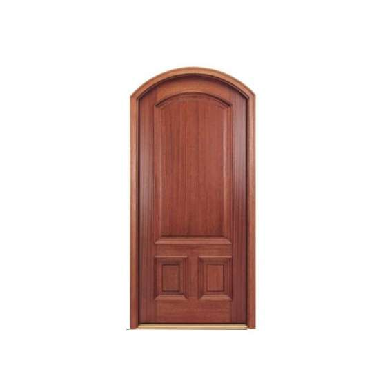 WDMA luxurious interior wooden door decorated glass