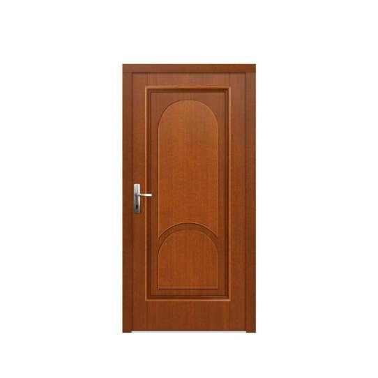 WDMA luxurious interior wooden door decorated glass Wooden doors