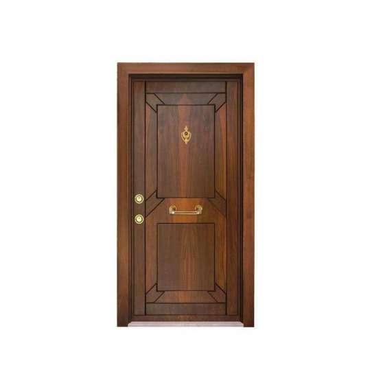 China WDMA Luxury Door With Bali Carved Front Door Design