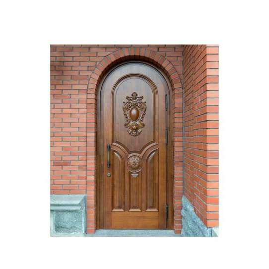 WDMA Luxury Interior Wooden Single Door Flower Designs Italian