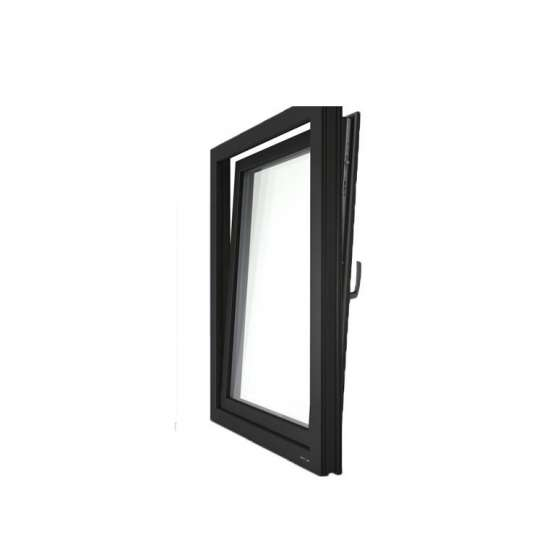 WDMA Made In China Villa Aluminium Single Tilt Turn Out Door Attach With Window Models House Windows With Glass Design