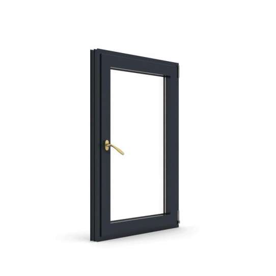 China WDMA Made In China Villa Aluminium Single Tilt Turn Out Door Attach With Window Models House Windows With Glass Design