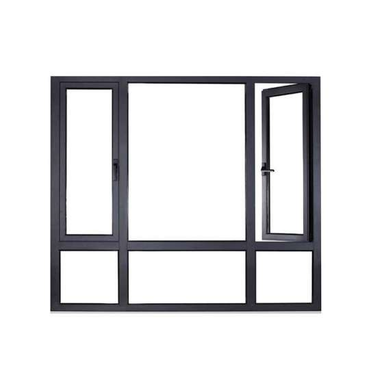 China WDMA Made In China White Color Mirror Glass And Window Grill Design