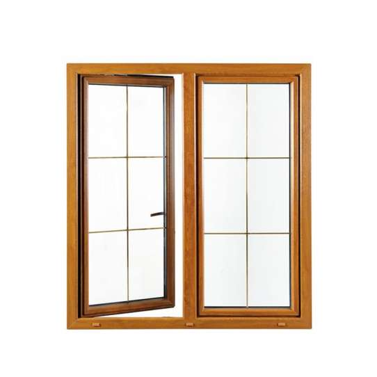 China WDMA Aluminum White Color Window