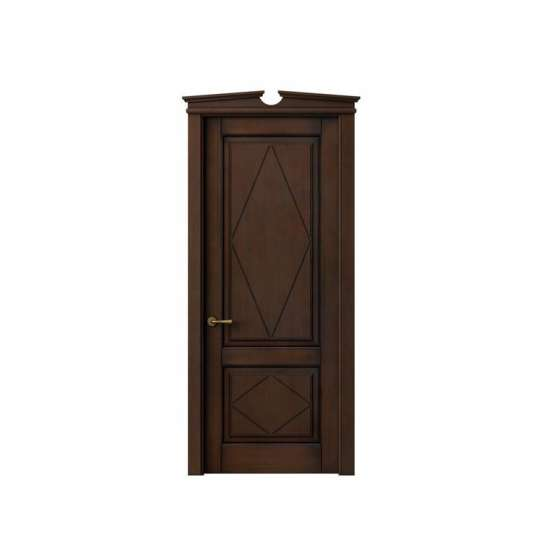 China WDMA Semi Solid Wooden Door