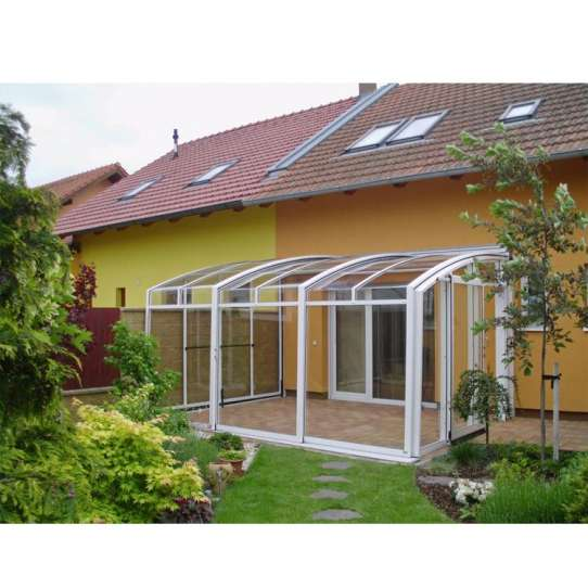 WDMA Metal Glass Greenhouse Extension Sunroom