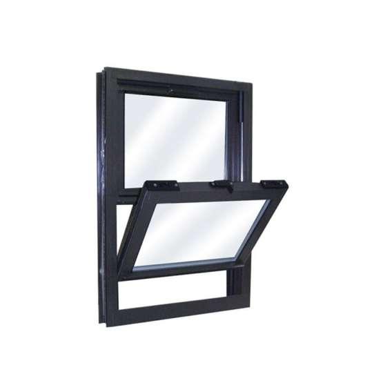China WDMA alu window Aluminum Single Hung Window