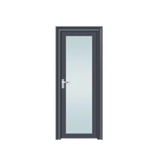WDMA Modern American Main Safety Gate Door Design In Aluminium Single Door Models With Grill Design