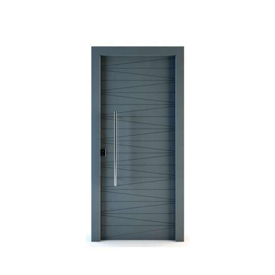 WDMA Modern Apartment European Style MDF Interior Wooden Door Design