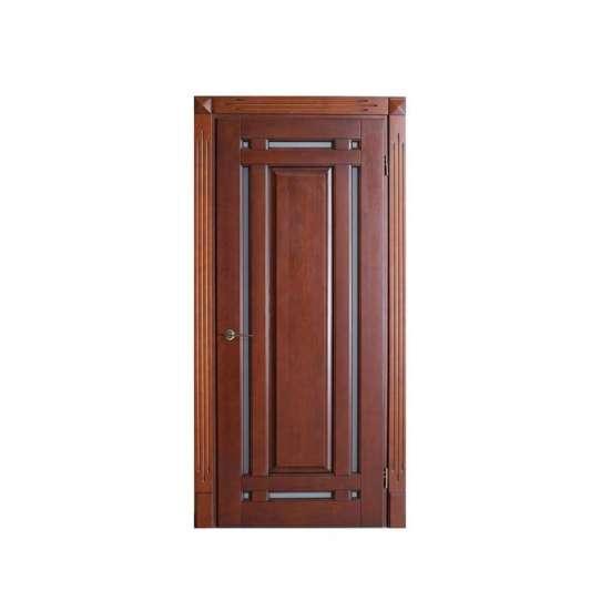 China WDMA Modern Apartment European Style MDF Interior Wooden Door Design