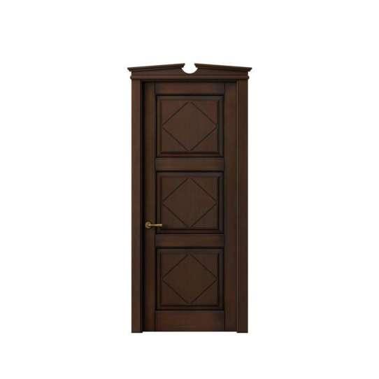 WDMA round top wood door