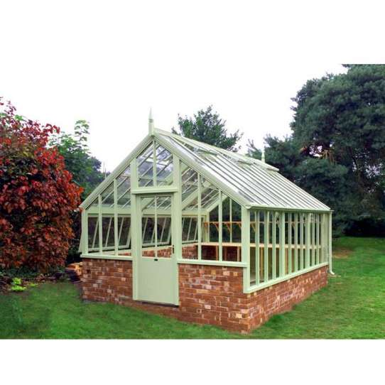 WDMA Modern Design Garden Glass Green house for Pool Grey Color
