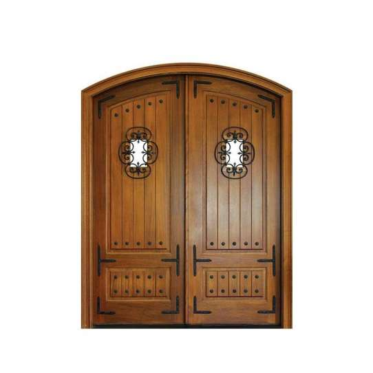 China WDMA modern exterior wooden door