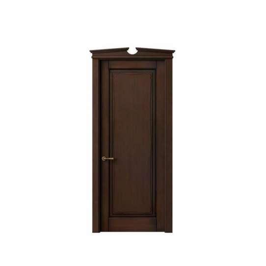 WDMA modern wood carving door design Wooden doors