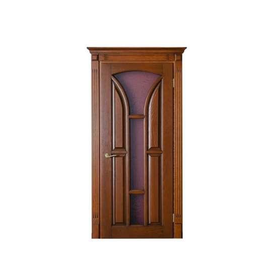 WDMA Natural Oak Veneer Engineered Wooden Door For House