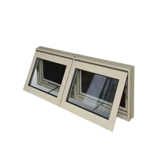 China WDMA New Products Aluminum Thermal Break Awning Window Price Philippines