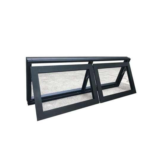 WDMA New Products Aluminum Tilt Out Window Bottom Hung Window Puertana Factory