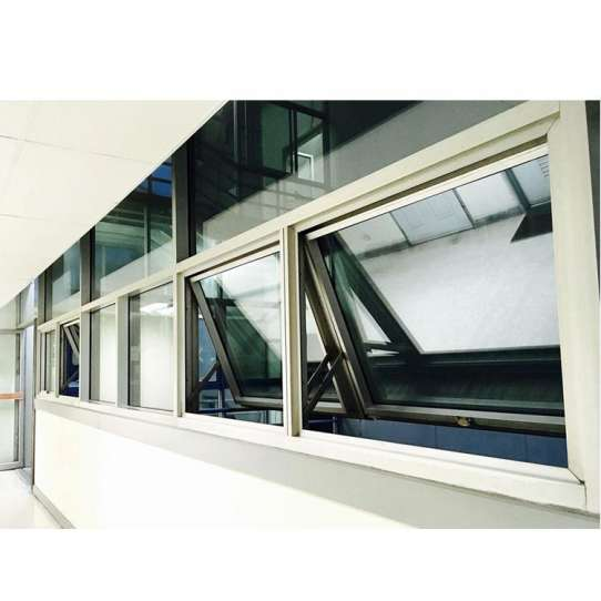 China WDMA New Products Au Standard Timber Reveal Top Hung Awning Window