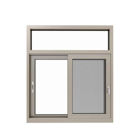 WDMA double glazed frameless windows Aluminum Sliding Window