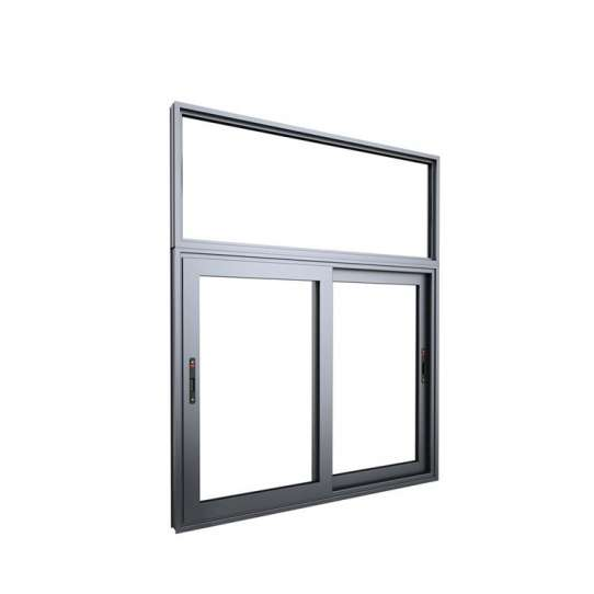 China WDMA double glazed frameless windows Aluminum Sliding Window