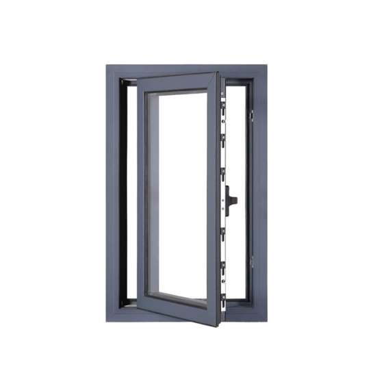 WDMA New Products Inbuilt Security Jalousie Residential Casement Soundproof Insulated Windows
