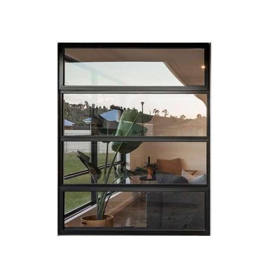 WDMA tempered single glass awning window