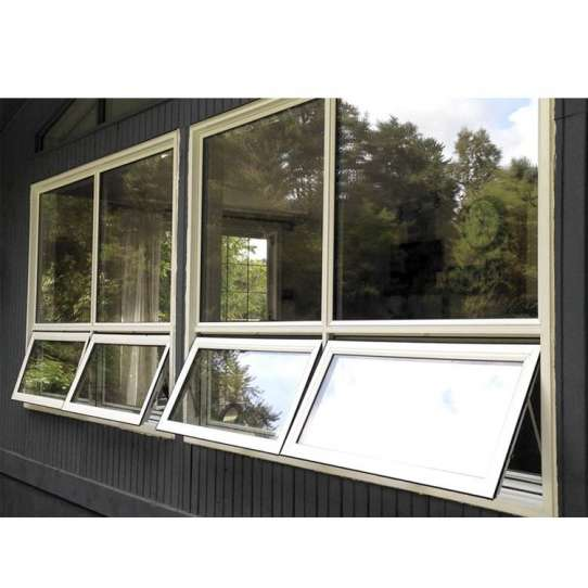 China WDMA New Products Inward Opening Tempered Glass Awning Window Philippines Price