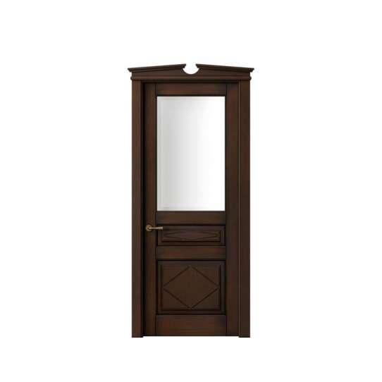 China WDMA New Products Miami Bathroom PVC Wood Doors Prices