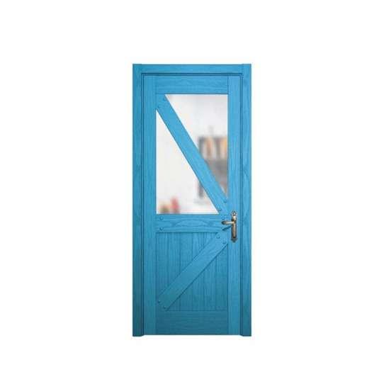 China WDMA bathroom pvc doors prices Wooden doors