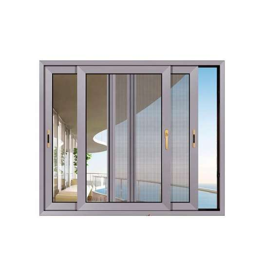 China WDMA New Products Modern House Wooden Grain Sliding Windows