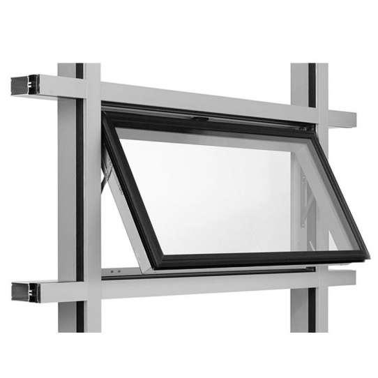WDMA motorized awning windows