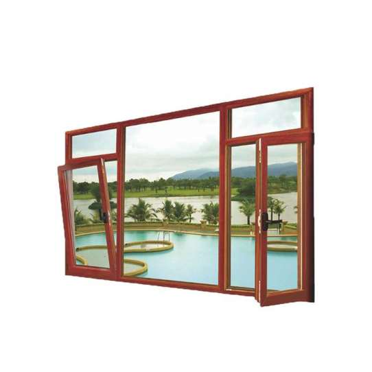WDMA New Products Thermally Broken Aluminium Tilt And Turn Window From China Top Supplier