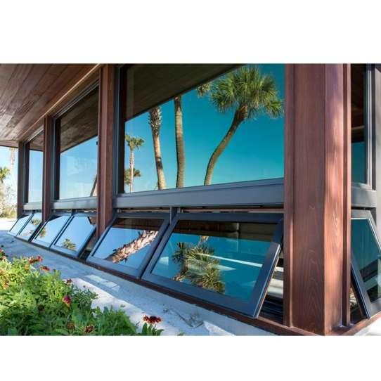 China WDMA double glazed awning window