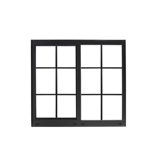 WDMA wood colour sliding window grill design