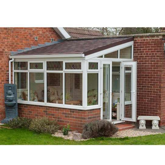 WDMA Non-thermal Break Outdoor Glass House For Pool Solarium Sun Room