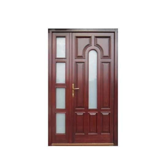 WDMA office wood door with glass Wooden doors
