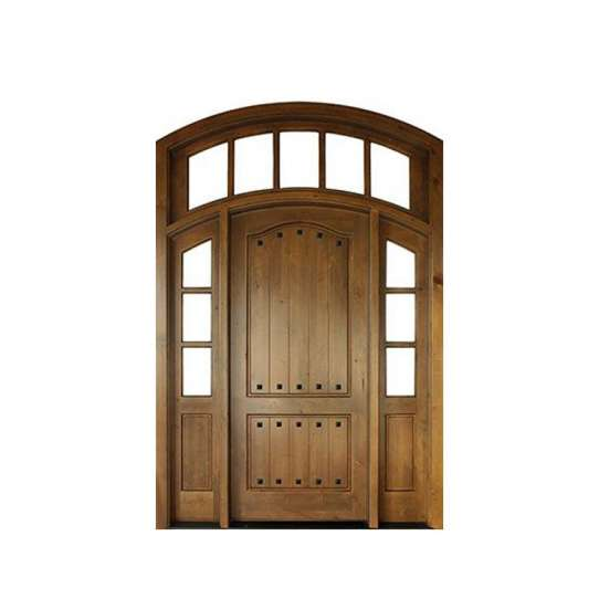 China WDMA office wood door with glass