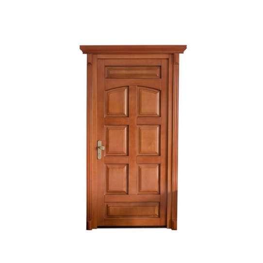 China WDMA wooden door grill design