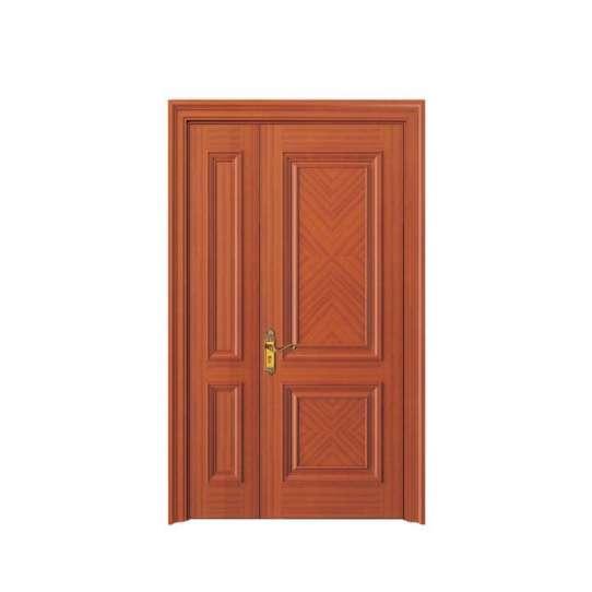 China WDMA wooden door grill design Wooden doors