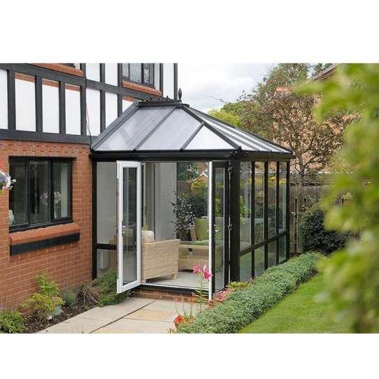 China WDMA garden glass room