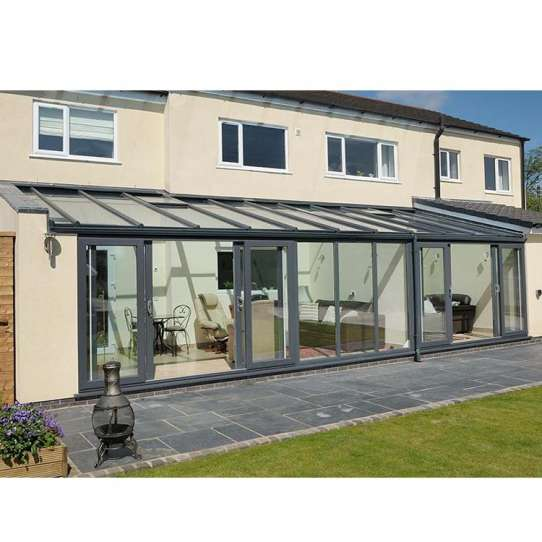 WDMA Outdoor Insulated Glass Rooms Porch Enclosure Sunroom