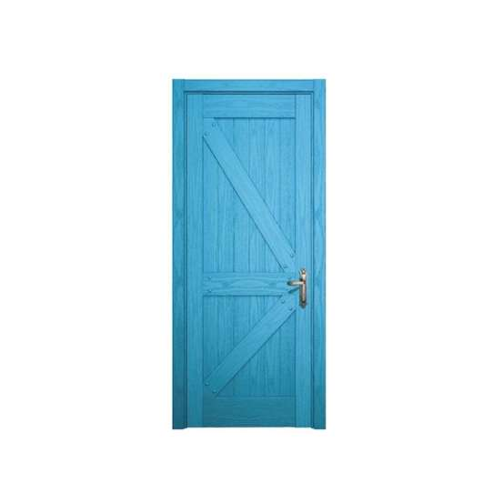 China WDMA white lacquer MDF wood interior door Wooden doors
